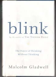 Blink is about how we think and how we manage to make snap jusdgements - it's about how we think when we doun't have time to weigh all the evidence, and yet, it gives us a chance to look at how much we are really weighing all the time.